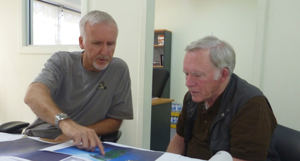 Photo: James Cameron and Don Walsh