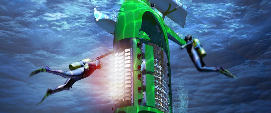 Image: DEEPSEA CHALLENGER test dive